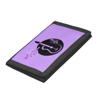 MoonDreams音楽ギターの三つ折り財布