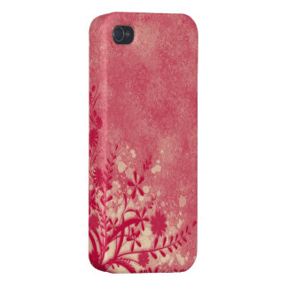 。:: MoonDreams::。 ピンクの花のiphone 4ケース iPhone 4/4S カバー