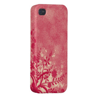 。:: MoonDreams::。 ピンクの花のiphone 4ケース iPhone 4 Case