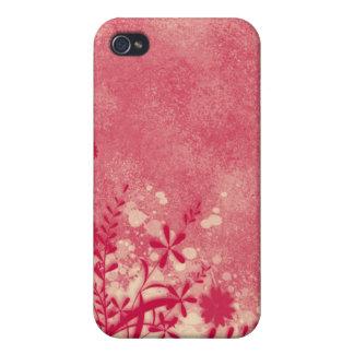 。:: MoonDreams::。 ピンクの花柄 iPhone 4 カバー