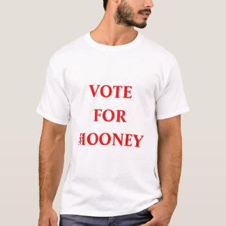 Mooneyのための投票 Tシャツ