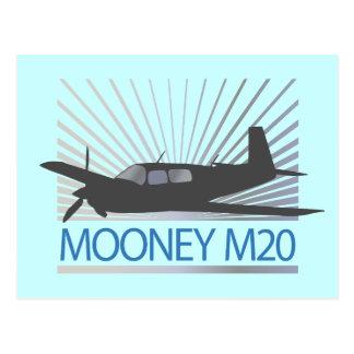 Mooney M20の航空 ポストカード