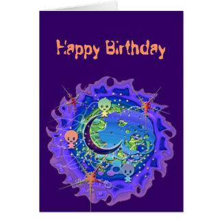 Mooniesの誕生日 カード