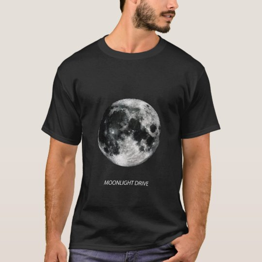 MOONLIGHT DRIVE - The Moon Tシャツ