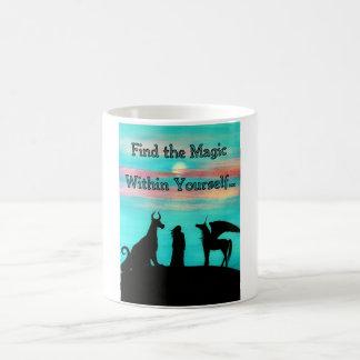 """MoonMythは""""見つけますあなた自身の内の魔法を"""" コーヒーマグカップ"""
