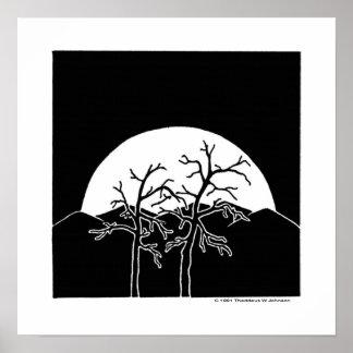 Moonriseのキャンバス ポスター