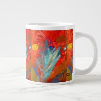 Moonsnbutterflycocoons ジャンボコーヒーマグカップ