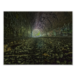 Moonvilleのトンネル、オハイオ州 ポスター
