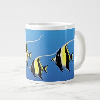 Moorishの偶像の珊瑚礁の魚のジャンボマグ ジャンボコーヒーマグカップ