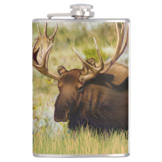 Moose Bull Teton王 フラスク