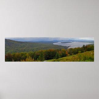Mooselookmeguntic湖、メイン ポスター