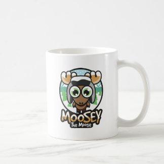 mooseyの冬 コーヒーマグカップ