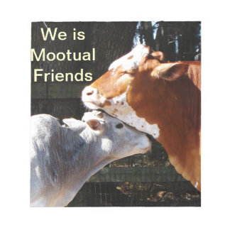 Mootual牛友人のノート ノートパッド