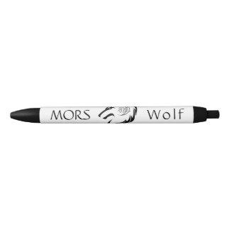 MORのオオカミのペン 黒ボールペン