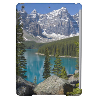 moraine湖、カナダ人ロッキー山脈、アルバータ、カナダ