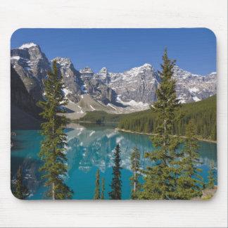 moraine湖、カナダ人ロッキー山脈、アルバータ、カナダ2 マウスパッド