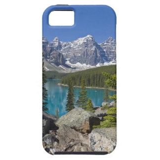 moraine湖、カナダ人ロッキー山脈、アルバータ、カナダ iPhone SE/5/5s ケース