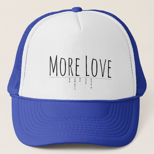 More Love Truckers Hat キャップ
