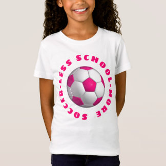 More Soccer Pink Tシャツ