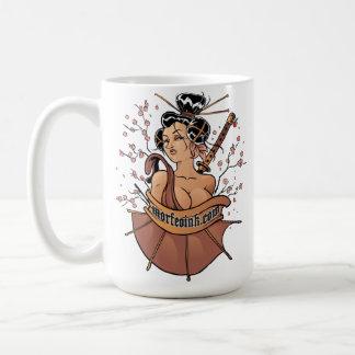 morfeoinkによるムーサの花 コーヒーマグカップ