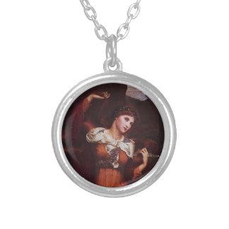 Morgana le Fay (モーガンPendragon) シルバープレートネックレス