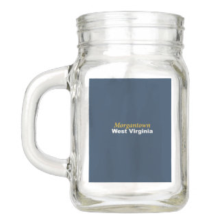 Morgantown、ウェストヴァージニアのメーソンジャー メイソンジャー