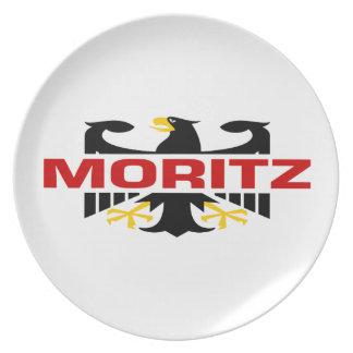 Moritzの姓 プレート