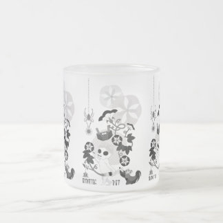 MORNING GRAY MONOCHROME フロストグラスマグカップ