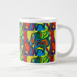 Morningflower ジャンボコーヒーマグカップ