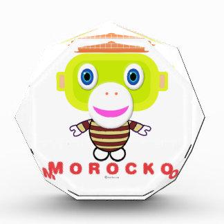 Morocko 表彰盾