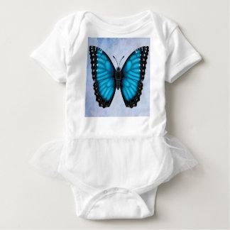 Morphoの青い蝶 ベビーボディスーツ