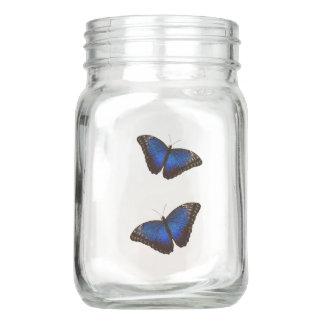 Morphoの青い蝶 メイソンジャー