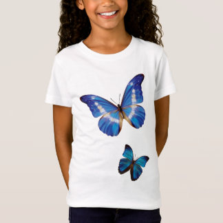 Morphoの青い蝶 Tシャツ