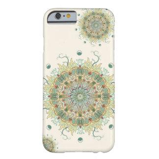 Morrisのアーティチョークの花の曼荼羅の電話箱 Barely There iPhone 6 ケース