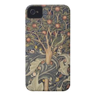 Morrisのキツツキのタペストリーの詳細 Case-Mate iPhone 4 ケース