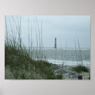 morrisの島の灯台 ポスター