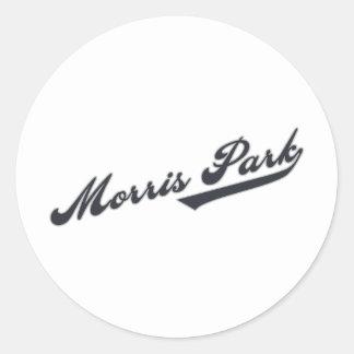 Morris公園 ラウンドシール
