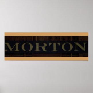 Mortonの家 ポスター