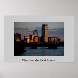MOSボストンからの眺め ポスター