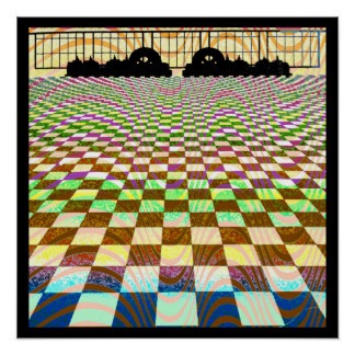 Mos Eisleyの日没のオップアートポスター ポスター