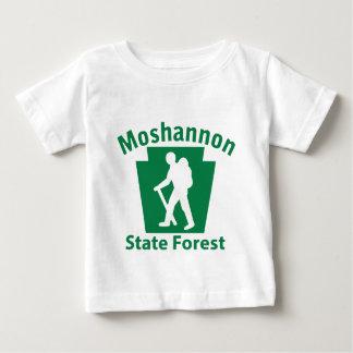 Moshannon SFのハイキング(男性) ベビーTシャツ