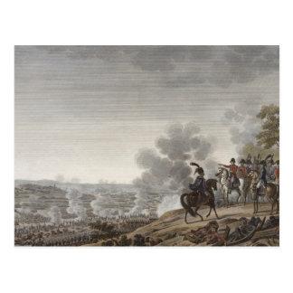 Moskvaの戦い、1812年9月7日のengrav ポストカード
