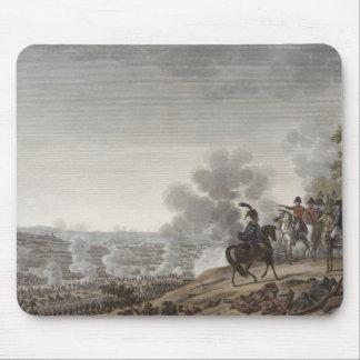 Moskvaの戦い、1812年9月7日のengrav マウスパッド