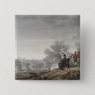 Moskvaの戦い、1812年9月7日のengrav 5.1cm 正方形バッジ