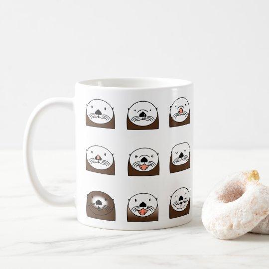 Moss Landing Sea Otters コーヒーマグカップ