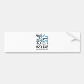Mossadイスラエルの代理店 バンパーステッカー