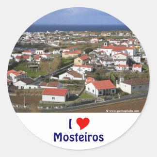 Mosteiros -アゾレス ラウンドシール