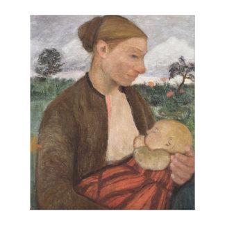 MotherおよびChild 1903年 キャンバスプリント