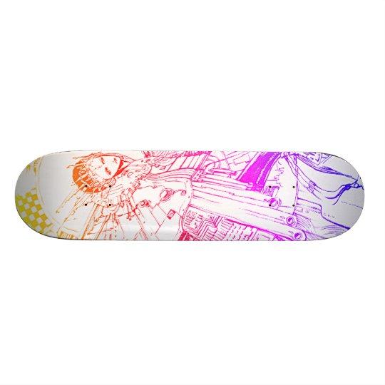 Motherboard 18.1cm オールドスクールスケートボードデッキ
