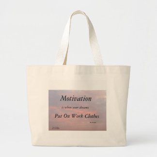MOTIVATION-BENフランクリンのトート ラージトートバッグ